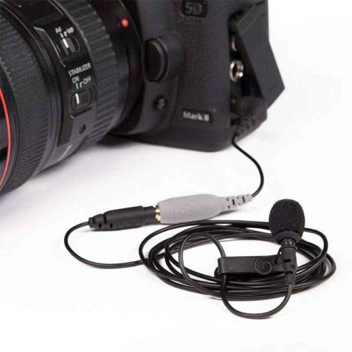 lavalier mic for DSLR features