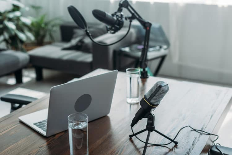 pop filter and mic stand