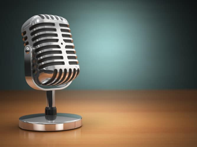 birth of the modern microphone