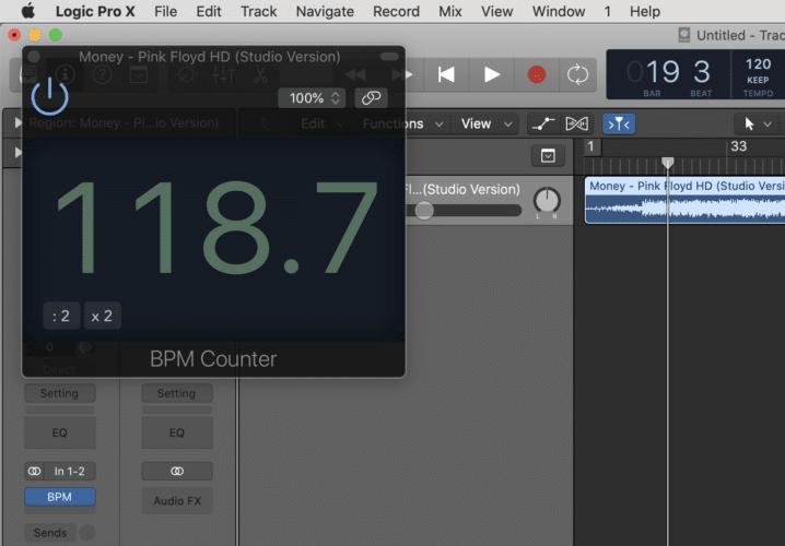 Add The BPM Counter