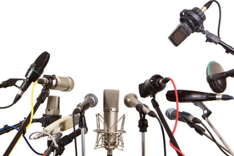 many microphone types
