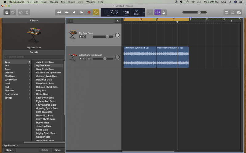 create a new instrument track