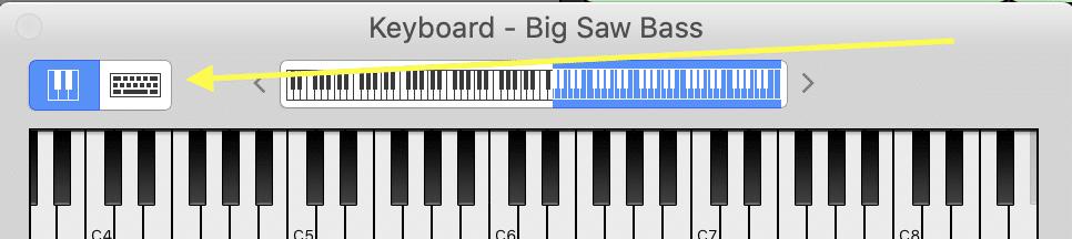 keyboard big saw bass