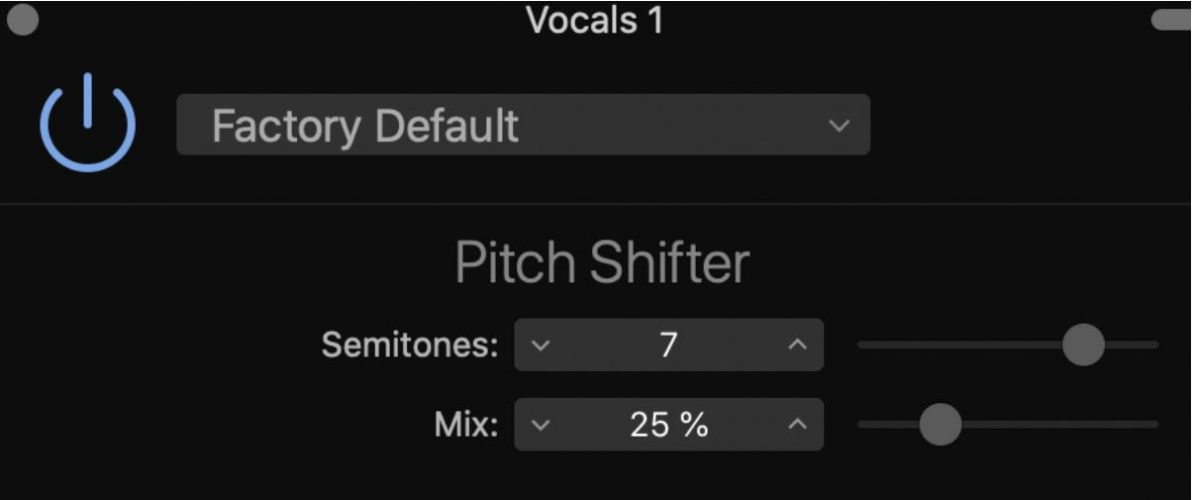 Pitch Shifter plugin