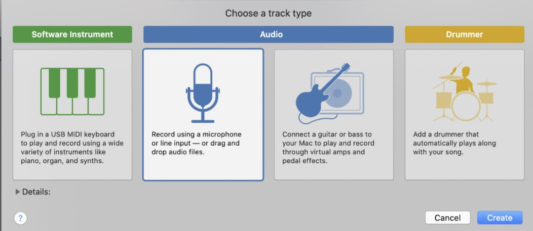 choose microphone symbol