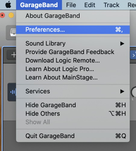 Set Up Audio Preferences