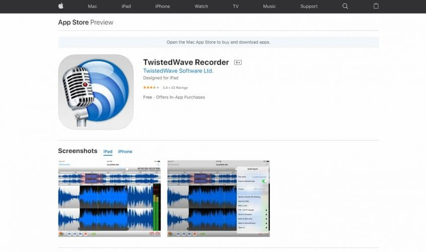 Twisted Wave Recorder