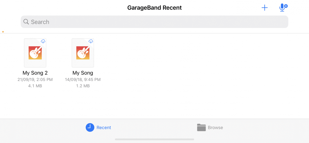 how to record podcast on iPhone using GarageBand