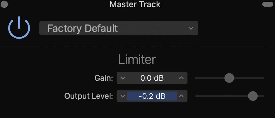 master track limiter