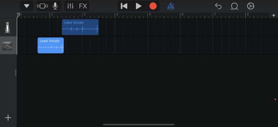second audio track