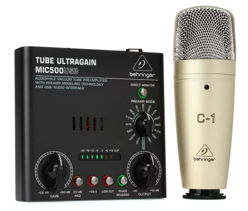Behringer Voice Studio Bundle