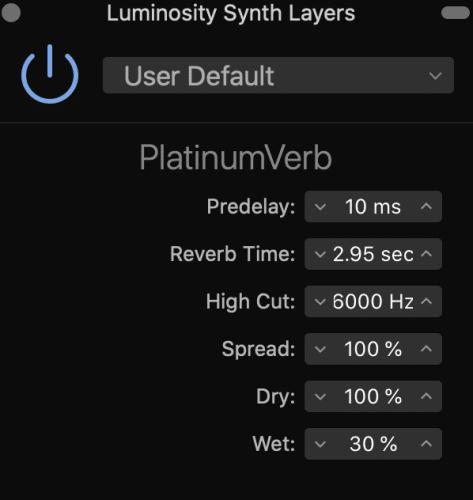 Platinum reverb