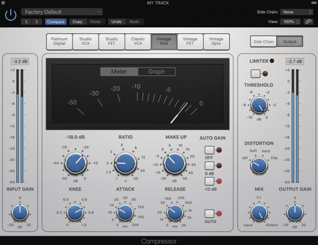 compression in mastering